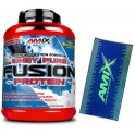 Pack Amix Whey Pure Fusion 2,3 kg + Toalla Sportswear Azul -Verde