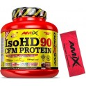 Pack Amix Pro Iso HD CFM Protein 90 1800 gr + Toalla Exclusiva Roja