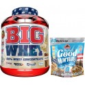 Pack BIG Whey 100% Whey Concentrate 2 Kg + Max Protein Harina de Avena Good Morning Edicion Limitada Bulevip 500 gr