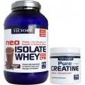 Pack Victory Neo Isolate Whey 100 CFM 2 Kg + Pure Creatina (100% Creapure) 100 gr