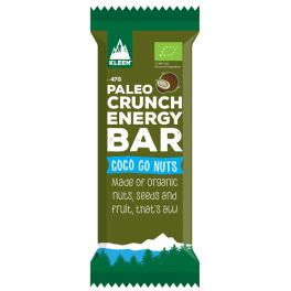 Paleo Crunch Raw Coconut Energy Bar Organic 1 barrita x 47 gr