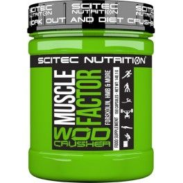 Scited Wod Crusher Muscle Factor 150 caps
