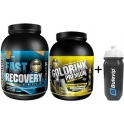 Pack Gold Nutrition Fast Recovery 1 Kg + Gold Drink Premium 750 gr + Bidon Bulevip 600 ml