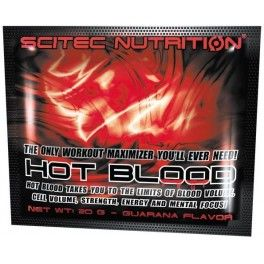 Scitec Nutrition Hot Blood 3.0 1 sobre x 20 gr