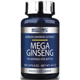Scitec Essentials Mega Ginseng 100 caps