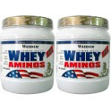 Pack Weider Whey Aminos 2 botes x 300 tabs