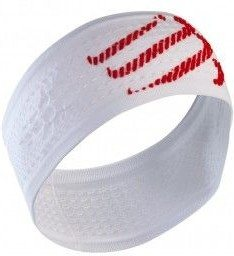 Compressport Cinta Headband ON/OFF Blanca