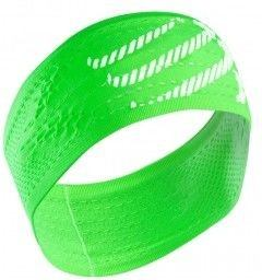 Compressport Headband ON/OFF Fluo Verde