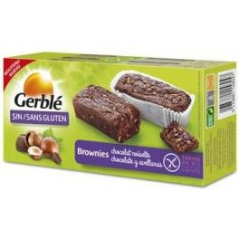 Gerblé Brownies Chocolate con Avellanas 4 und x 37,5 gr