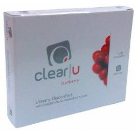 Gold Nutrition Clinical Clear-U Cranberry 15 caps