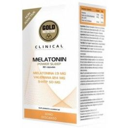 Gold Nutrition Clinical Melatonin Power Sleep 30 caps