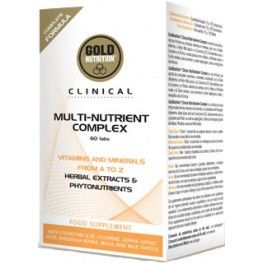 Gold Nutrition Clinical Multi-Nutrient Complex 60 comp
