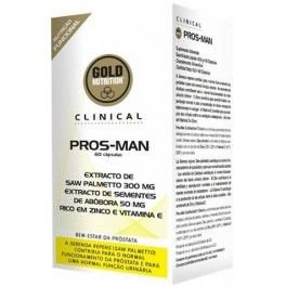 Gold Nutrition Clinical Pros-Man 60 caps