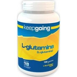 Keepgoing L-Glutamina 120 comp