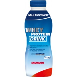 Multipower Whey Protein Drink 1 botella x 500 ml