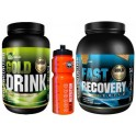 Pack Gold Nutrition Gold Drink 1 kg + Fast Recovery 1 kg