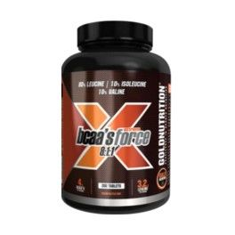 Gold Nutrition BCAA´s 8:1:1 Extreme Force 200 tabs