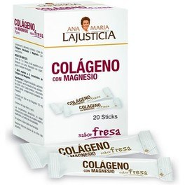 AM LaJusticia Colageno con Magnesio 20 sticks x 4,5 gr