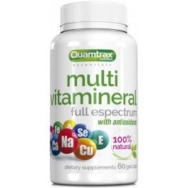 Quamtrax Essentials Multi Vitamineral 60 caps