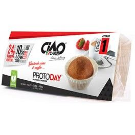 CiaoCarb ProtoDay Muffin Fase 1 - 3 muffins x 35 gr