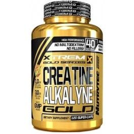 Xtrem Creatine Alkalyne Gold 120 caps