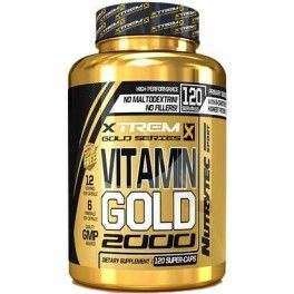 Xtrem Vitamin Gold 2000 120 caps