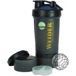 Weider Pro Shaker Blender Bottle 450 ml + Compartimentos