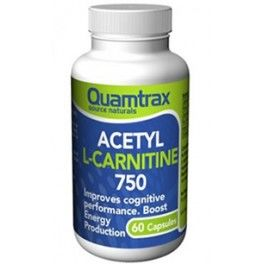 Quamtrax Essentials Acetyl L-Carnitine 750 mg 60 caps