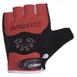 Chiba Lady Diamond Gloves-Rojo