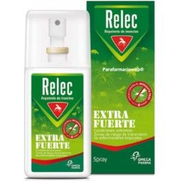 Relec Spray Extra Fuerte - Repelente de Insectos 75 ml