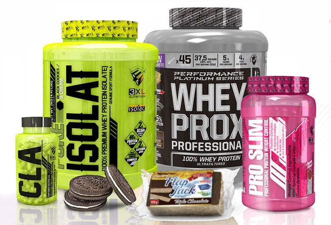 Productos Nutrytec, 3XL y Nutrione