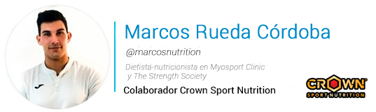 Marcos Rueda Crown Sport Nutrition