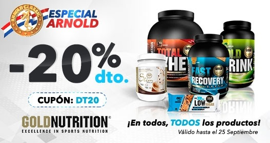 Gold Nutrition 20