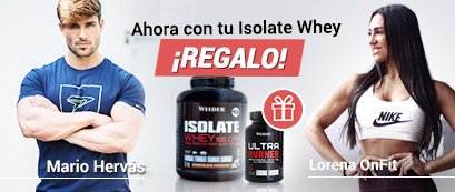 Pack Weider Isolate